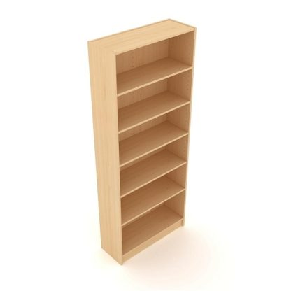 Bookcase Unit 725 - 2000mm High | Office Bookcases | EBS