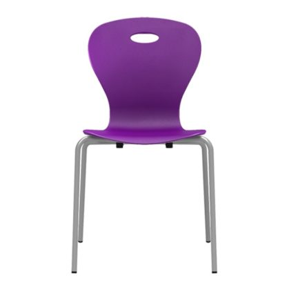 Café/Dining Polypropylene Painted legs Finish Chair | Cafe Chairs | ELOT6