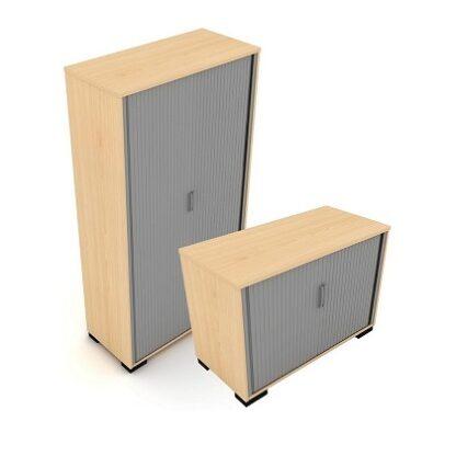 Tambour Door Storage Unit (Multiple Heights 725mm - 2000mm) | Storage Solutions | ENSSC