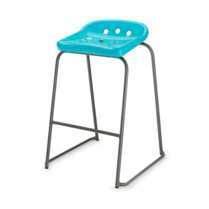 Classroom / Science Lab  Pepperpot Skid Base Stool | Children's Chairs | EP430
