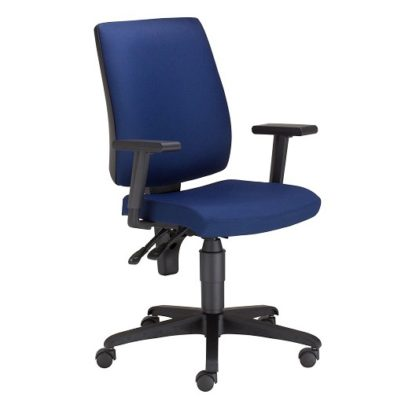 Office Task Chair With Adjustable Arms   Office Seating   ER19T TS16
