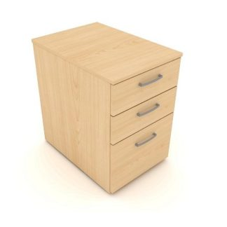 4 Drawer High Desk Pedestal 600mm and 420mm Wide | Personal Storage | ESDMPF/N