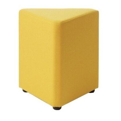 Square Segment Low Level Stool   Modular Seating   ESEGC