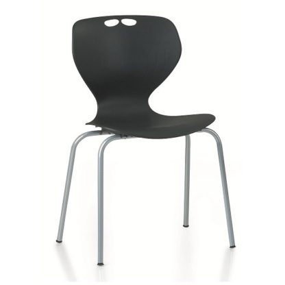 Mata Polypropylene Stacking Chair   Cafe Chairs   ESM1L