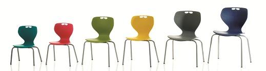 Polypropylene Stacking Chair Range
