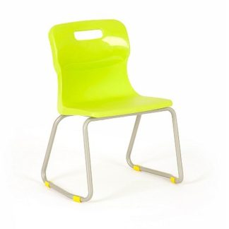 Classroom Skid Base Polypropylene Titan Chair | Children's Chairs | ET23