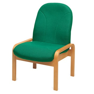 Soft Seating Easy Chair Wood Frame | Library Chairs | EW1