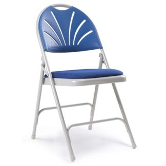 Fanback  Folding Chair - Padded Seat | Folding Chairs | F4
