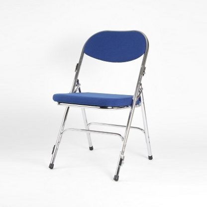 Deluxe Chrome Folding Chair - Padded | Folding Chairs | F5C