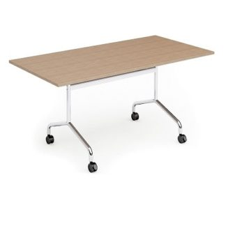 Folding Top Rectangular Conference Table 1600mm | Folding Meeting Tables | FLIBM02