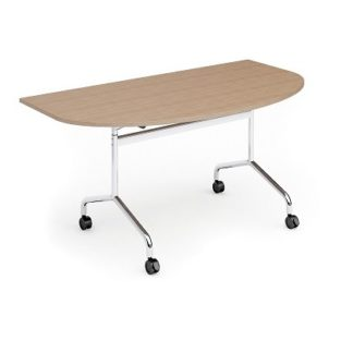 Folding Top Rectangular Conference Table 1600mm | Folding Meeting Tables | FLIBM05