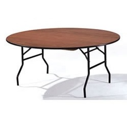 Circular Budget Plywood Folding Table | Budget Folding Tables | FTB2C