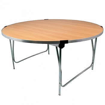 Gopak 4ft Round Folding Tables | Gopak Round Folding Tables | GOPC5