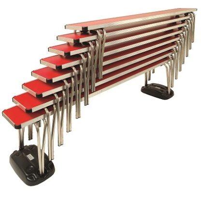 Gopak Contour Stacking Benches | Gopak Contour Folding Tables | GOPEB