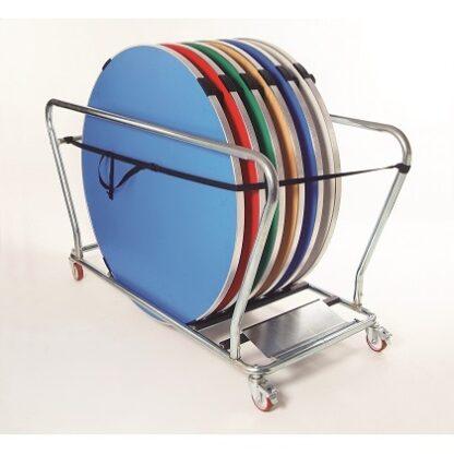 Gopak Round Table Trolley   Gopak Accessories   GOPRTT