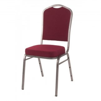 Budget Steel Mitre Stacking Conference Chair | Metal Stacking Chairs | HB5B