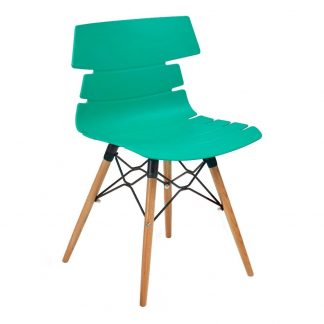 HOLBORN Modern Polypropylene Cafe Chair | Cafe Chairs | HOLW