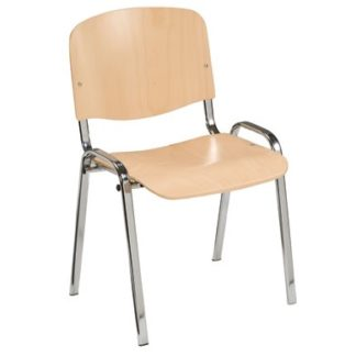 Comtemporary Stacking Laminate Chair | Cafe Chairs | L6