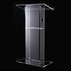 Classic Acrylic Perspex Lectern with Hand Holds | Lecterns | LA1