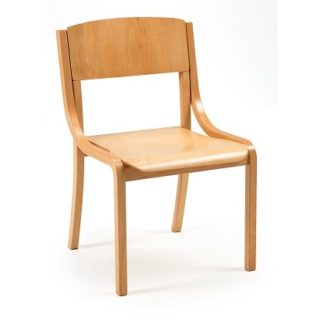 Lightweight Wooden Stacking Chair | Cathedral Range Chairs | LAM