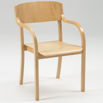 JACOB Lightweight Wooden High-Stacking Chair | Cathedral Range Chairs | LAM