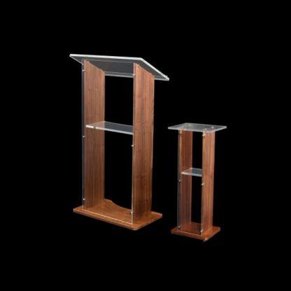 Modern Wood-Acrylic Lectern | Lecterns | LAW1