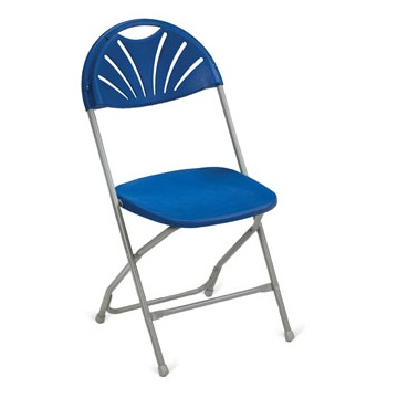 Fanback Polypropylene Folding Chair | Fast Dispatch | LF1DL