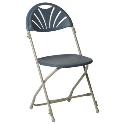 Fanback Polypropylene Folding Chair with Links | Folding Chairs | LF1DLL