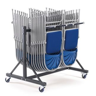 LOW2 - 2 Section Low Folding Chair Trolley | Community Folding Chair Trolleys | LOW2