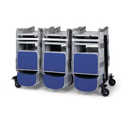 LOW3S - Folding Low 3 Section Trolley | Community Folding Chair Trolleys | LOW3S