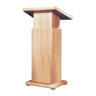 Adjustable Lectern (Gas Lift) in Wood Veneer | Lecterns | LW1