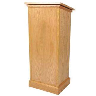 Adjustable Lectern (Gas Lift) in Wood Veneer | Lecterns | LW5