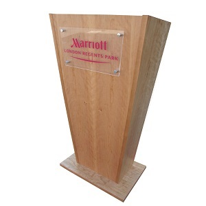 Classical Melamine Finish Lectern | Lecterns | LW6