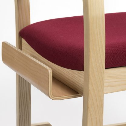 High Stacking Traditional Chapel and Church Upholstered Chair | Church Chairs | A1B