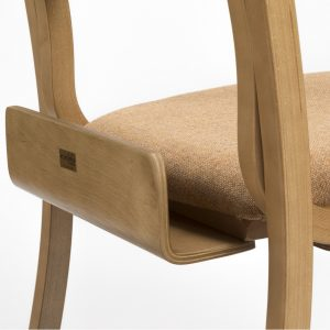 Book box for the Jacob lightweight stacking chair