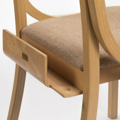 JACOB Lightweight Wooden High-Stacking Chair | Library Chairs | E4U