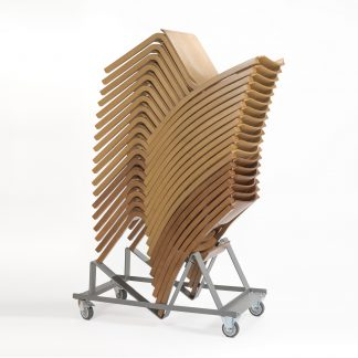 JACOB Lightweight Wooden High-Stacking Chair | Trolleys and Dolleys | OD9