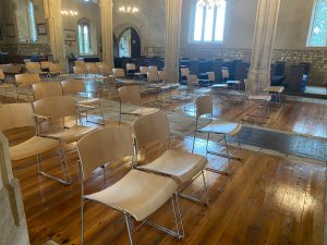 Community furniture, church furniture, cathedral chair, stacking chair, leisure chair