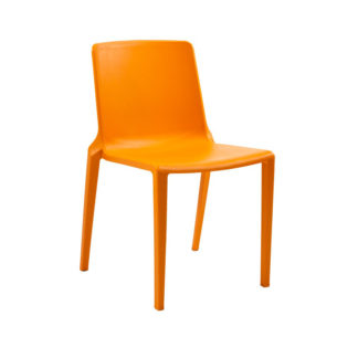 One-Piece Polypropylene Stacking Chair | Cafe Chairs | P3