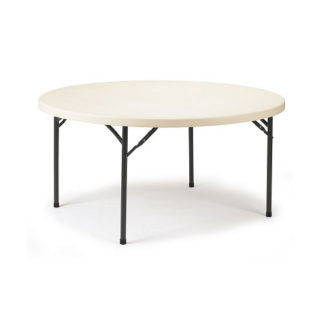 Polyfold Circular Table in various diameters ideal for canteen and event venue's
