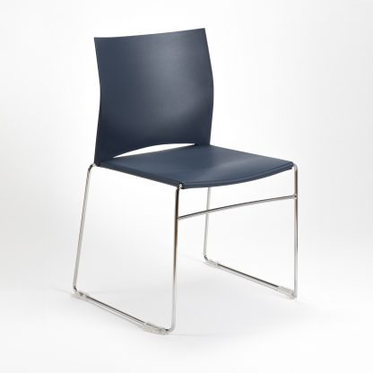 High-Stacking Contemporary Polypropylene Conference Chair | Church Chairs | SB6M