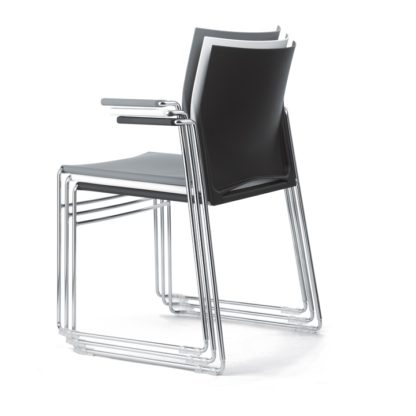 High-Stacking Contemporary Polypropylene Conference Chair | Stacking Chairs | SB6M