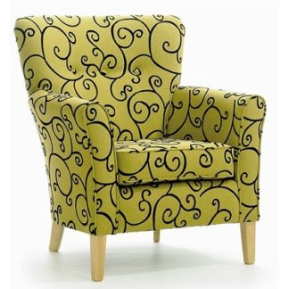 MELBOURNE Low Back Curve Chair - Yorkshire Range | Bedroom Chairs | SH1L