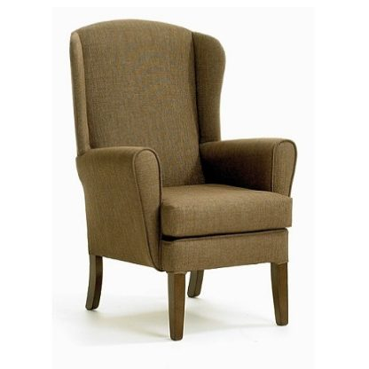APPLETON Small High Wing Back Chair - Yorkshire Range   Bedroom Chairs   SH3