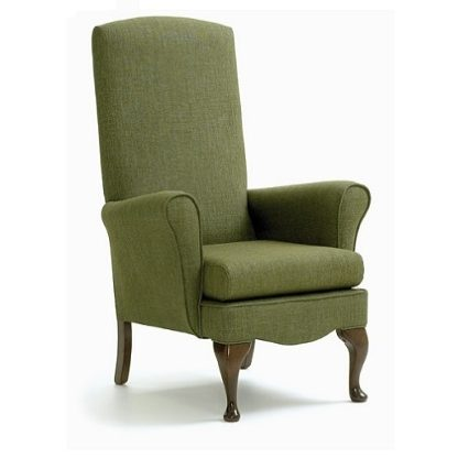 DEWSBURY Small Proportioned Queen Anne Chair - Yorkshire Range | Bedroom Chairs | SH4