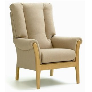QUEENSBURY High Back Conservatory Chair - Yorkshire Range | High Back Care Chairs | SH6