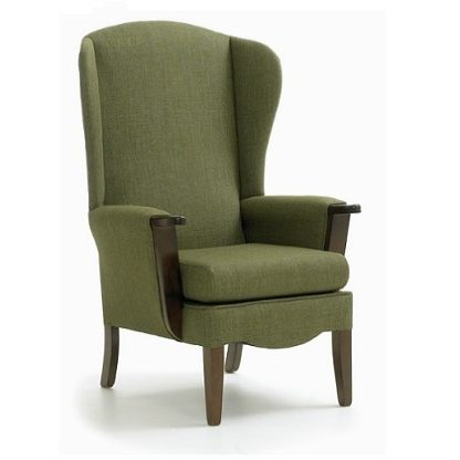 CAMBERWELL High Back Wing Chair | Bedroom Chairs | SHCAMHBWC