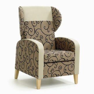 MODICA High Back Wing Chair | High Back Care Chairs | SHMODHBWC