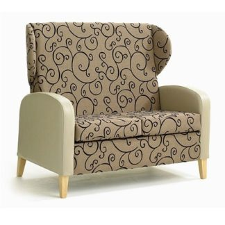 High Back Wing Settee | High Back Settees | SHMODHBWS