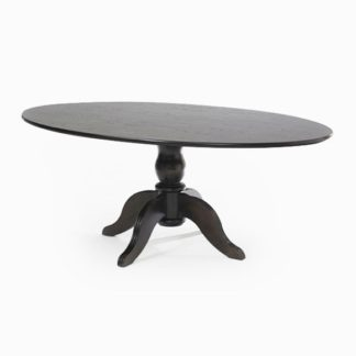 Oval Table with Traditional Centre Pedestal 1920mm | Dining Tables | SHOV6030